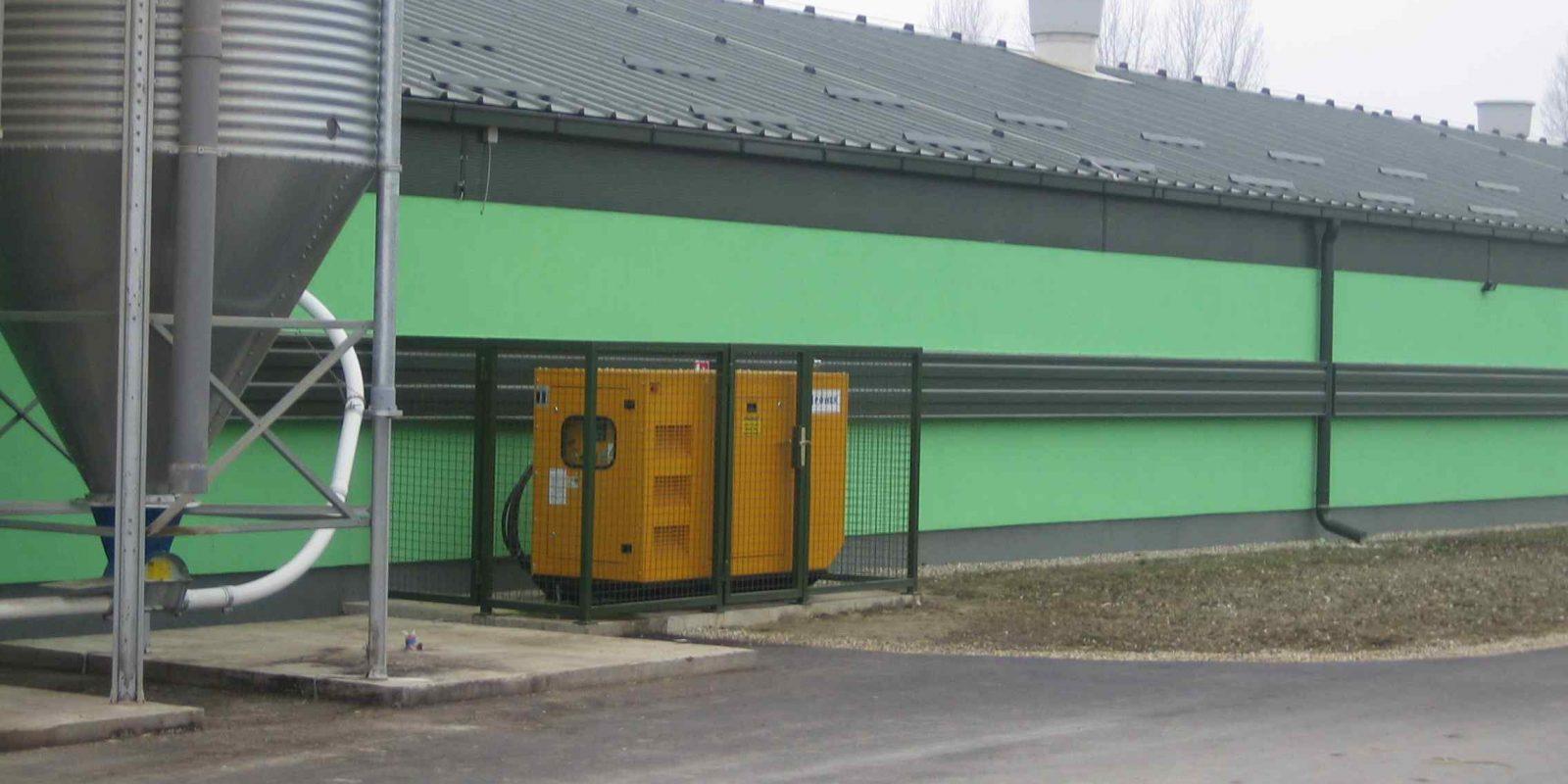 Diesel agregat 40 kVA – farma kod Varaždina