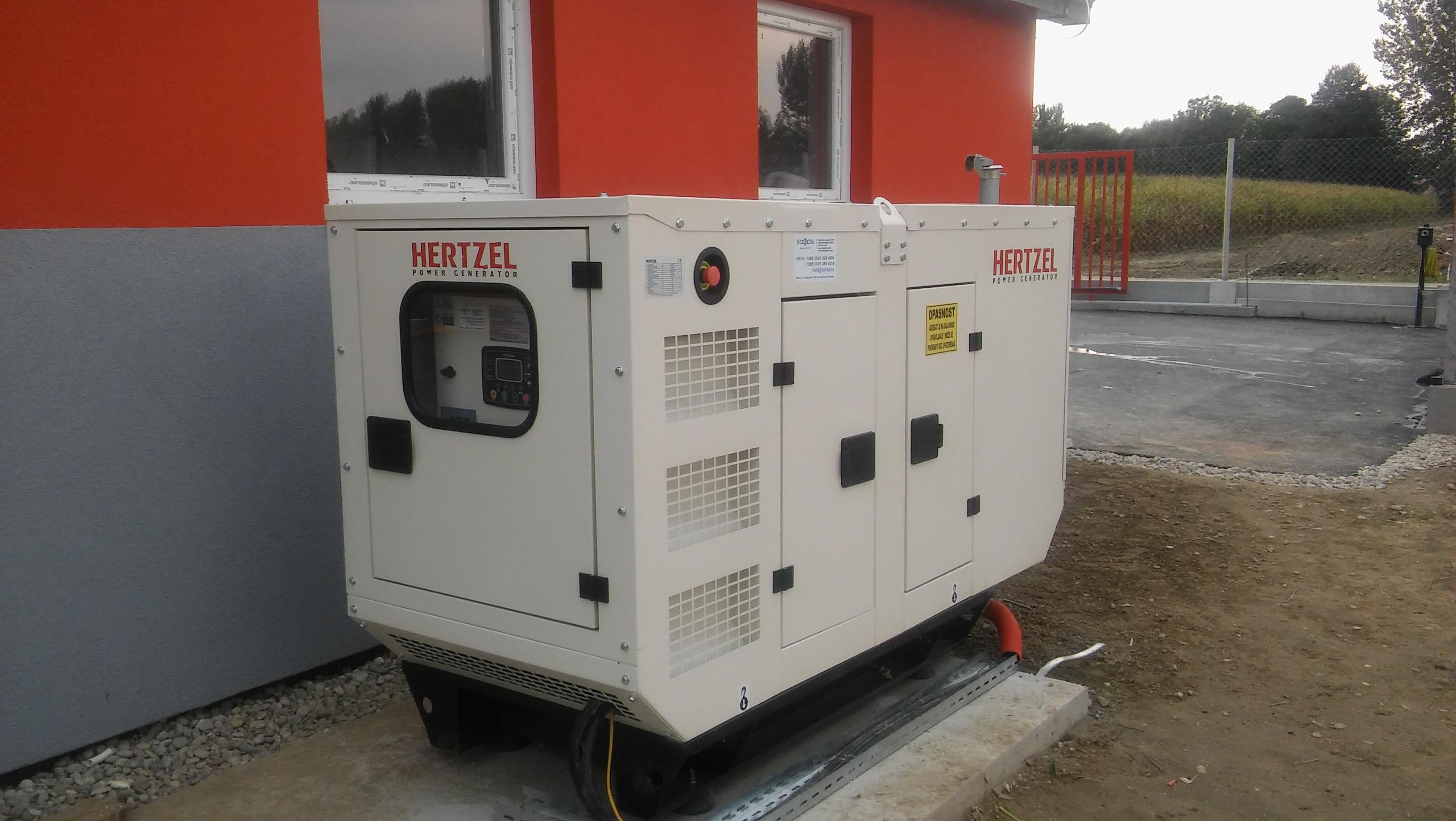 Diesel agregat 15 kVA – farma kod Ludbrega